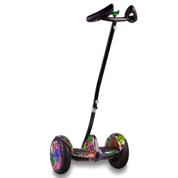 Купить Segway Ninebot mini + второй мягкий руль (хип-хоп фиолетовый)