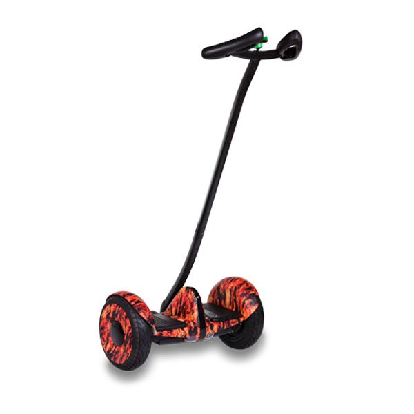 Купить Segway Ninebot mini + второй мягкий руль (огонь)